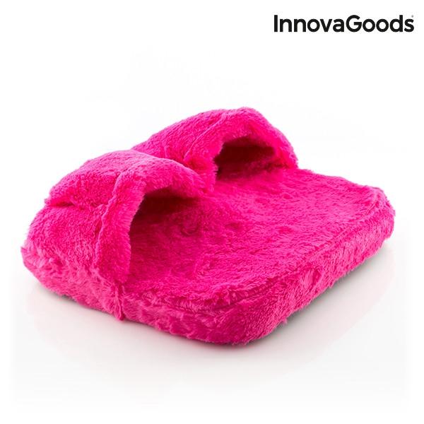 Pufosenii roz pentru masajul picioarelor 2
