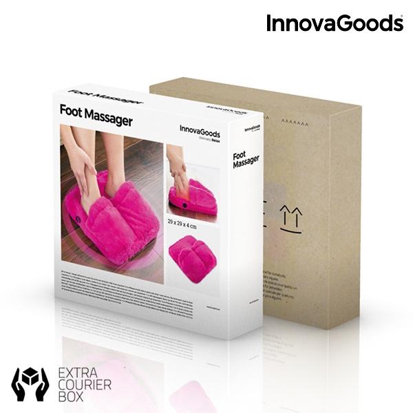 Pufosenii roz pentru masajul picioarelor 3