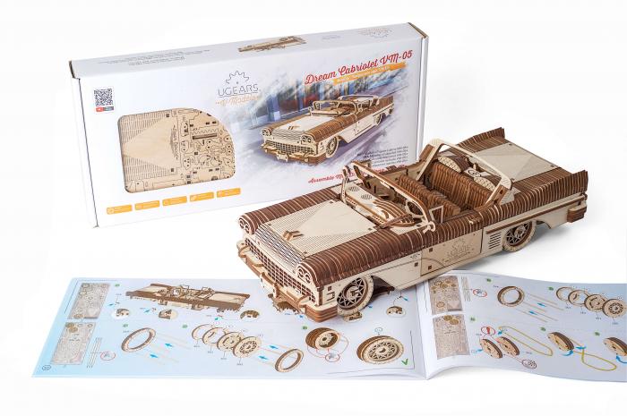 Puzzle mecanic Dream Cabriolet VM-05 6