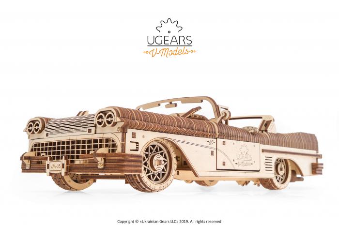 Puzzle mecanic Dream Cabriolet VM-05 4