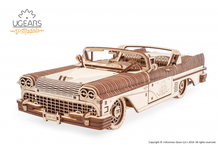 Puzzle mecanic Dream Cabriolet VM-05 2