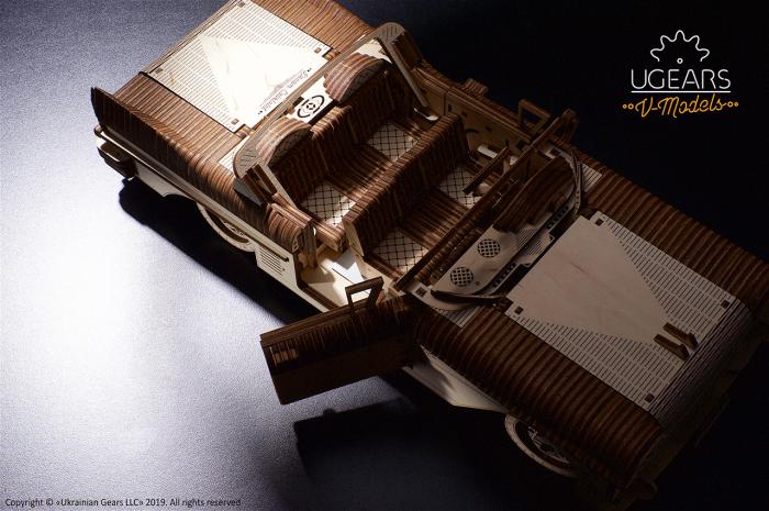 Puzzle mecanic Dream Cabriolet VM-05 5