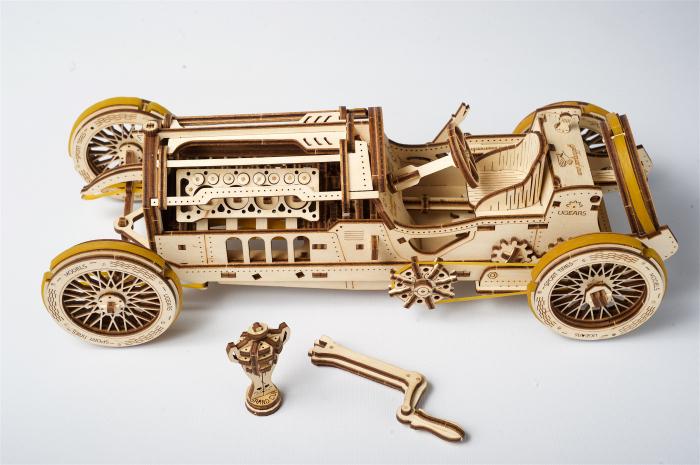 Puzzle mecanic Masina U-9 Grand Prix 5