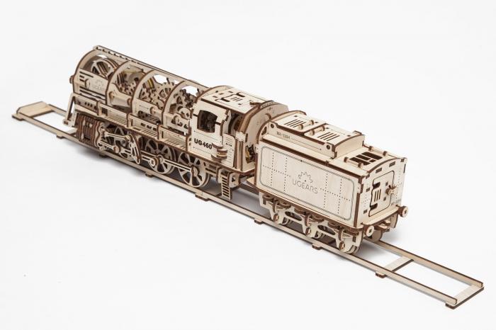 Puzzle mecanic Locomotiva cu abur 1
