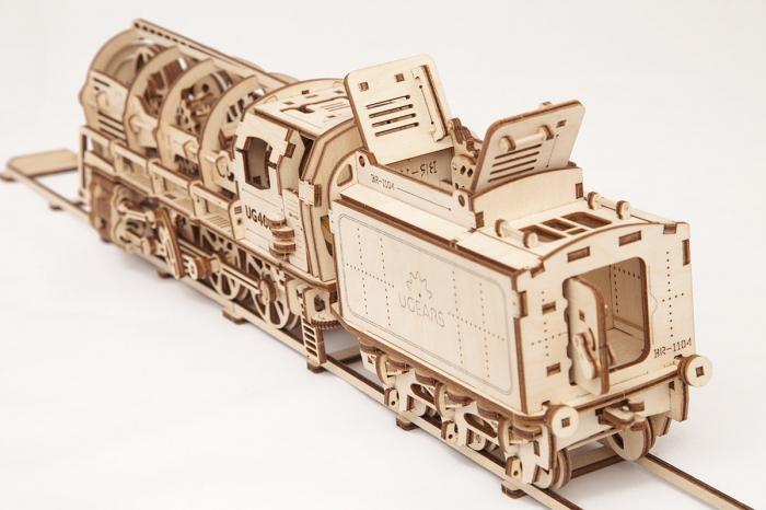 Puzzle mecanic Locomotiva cu abur 2