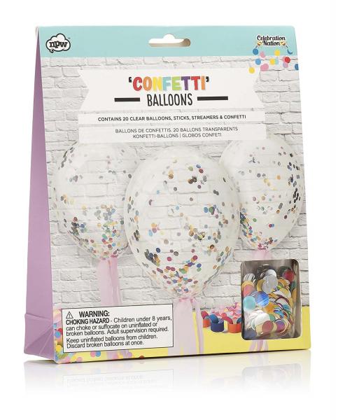 baloane confetti 0