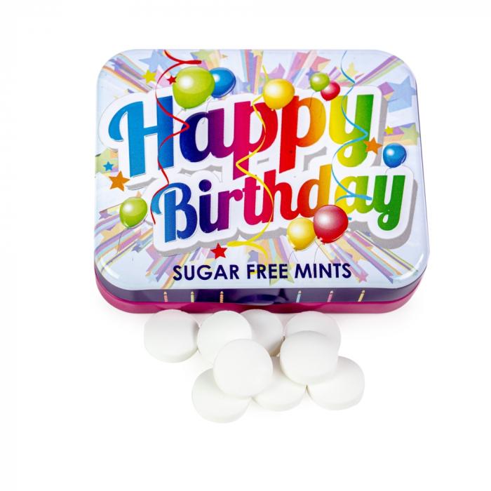 Bomboane mentolate Happy Birthday 0
