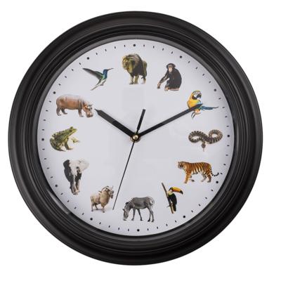 Ceas de perete cu sunete de animale [0]