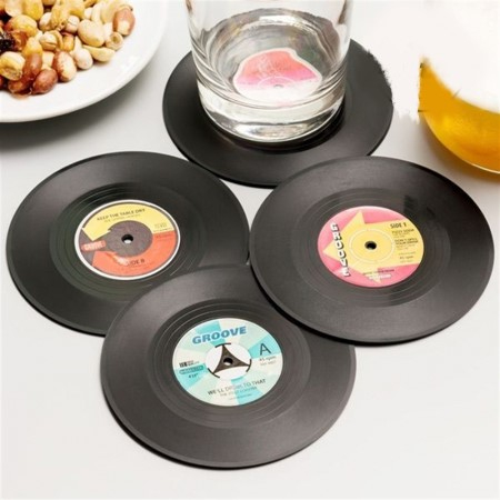 Coasters Vinyl Retro [0]