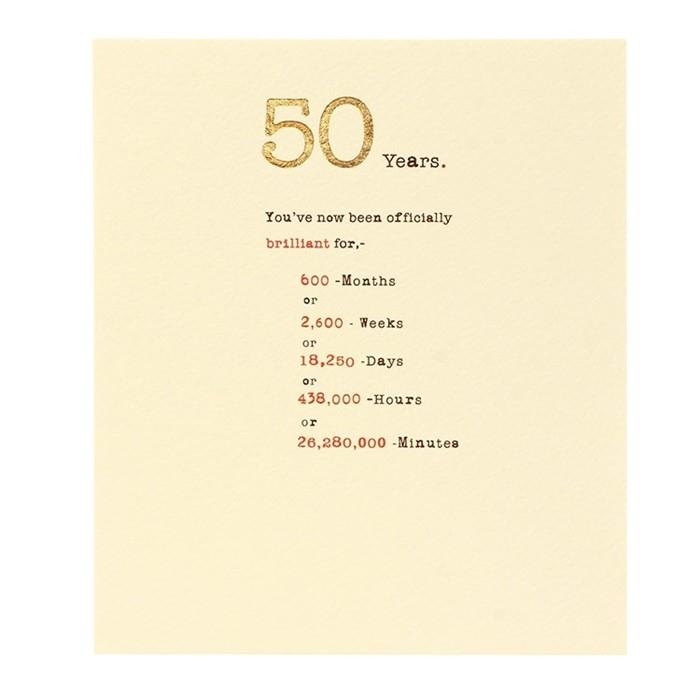 felicitare 50 ani 0