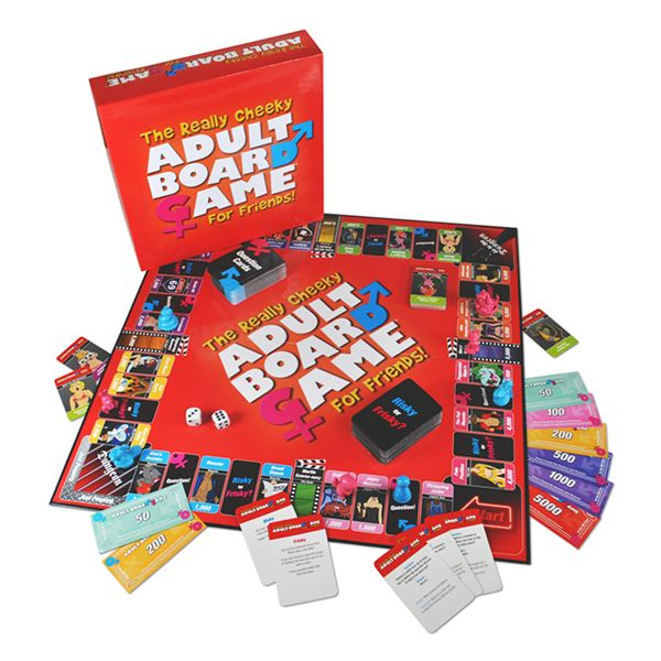 Board Game The Really Cheeky 4