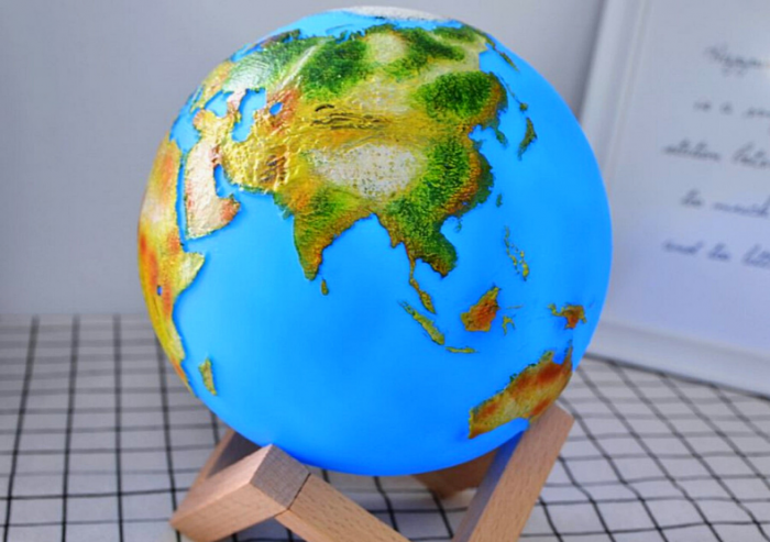 Lampa Glob 3D 1