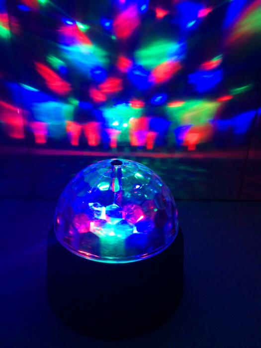 Lampa rotativa led 0