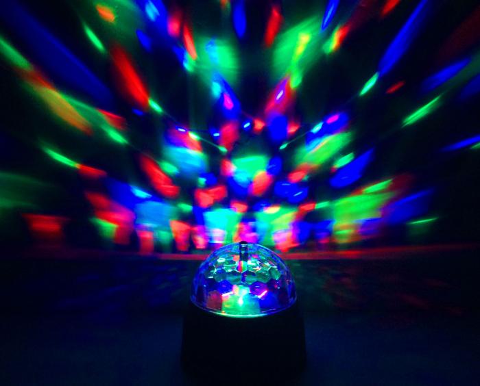 Lampa rotativa led 2
