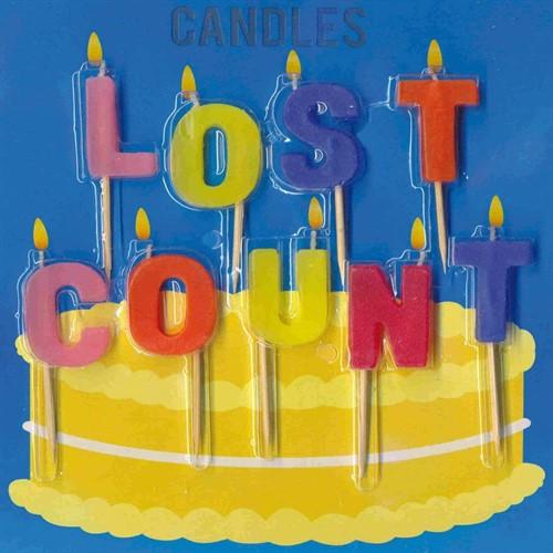 lumanari aniversare lost count 1