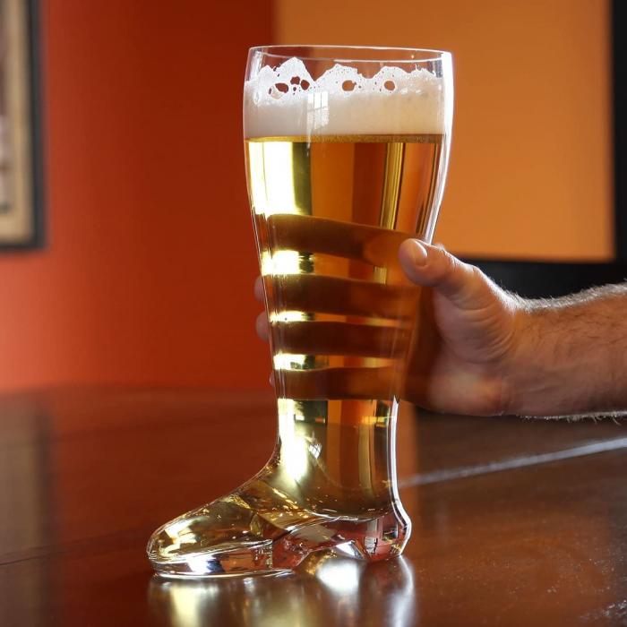 Pahar de bere XXXL in forma de cizma, 2 l 0