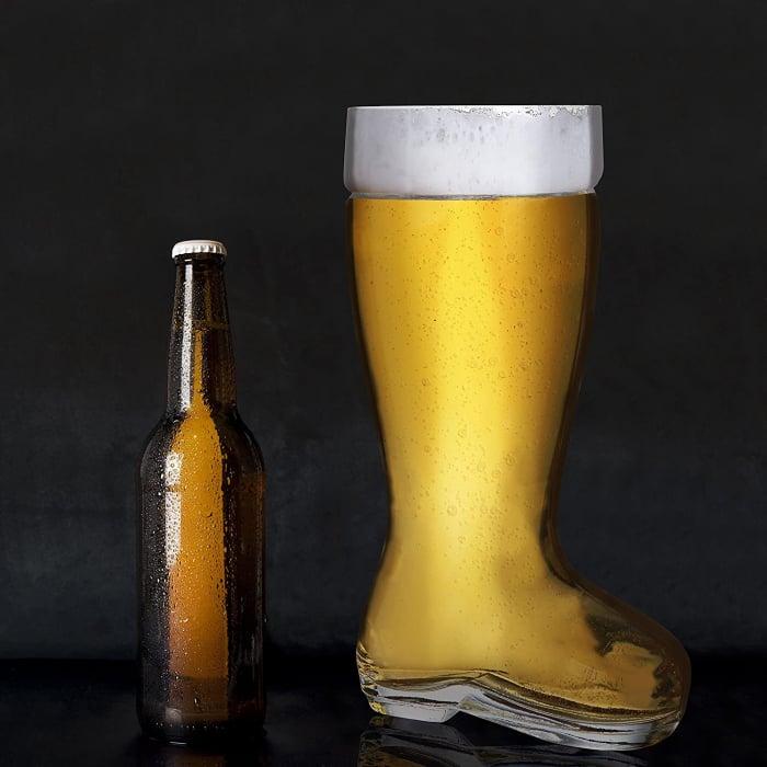 Pahar de bere XXXL in forma de cizma, 2 l 3