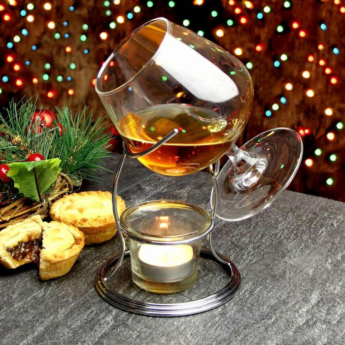 Suport incalzitor cu pahar Cognac [9]