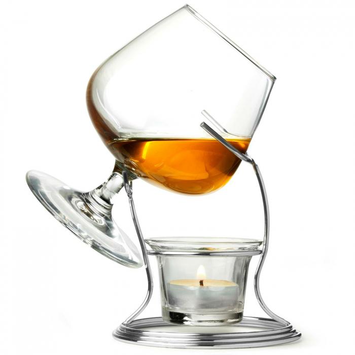Suport incalzitor cu pahar Cognac [1]