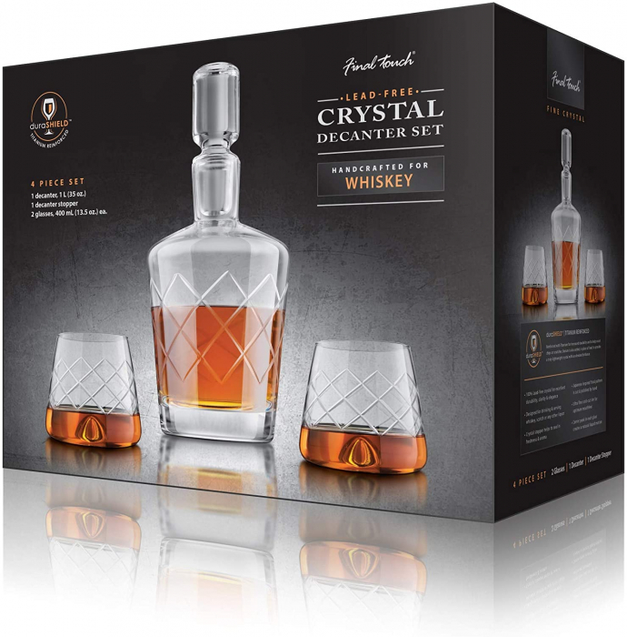 Set decantor Whisky Durashield [1]