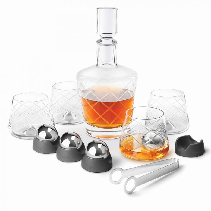 Set decantor Crystal Whiskey 0