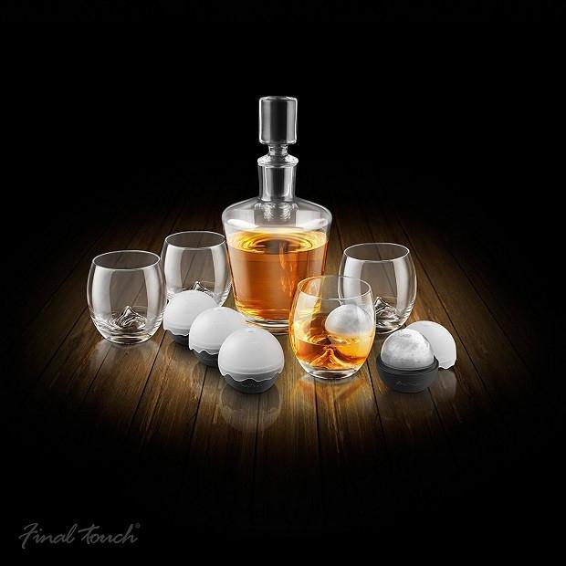 Set decantor Whisky On the Rocks [0]