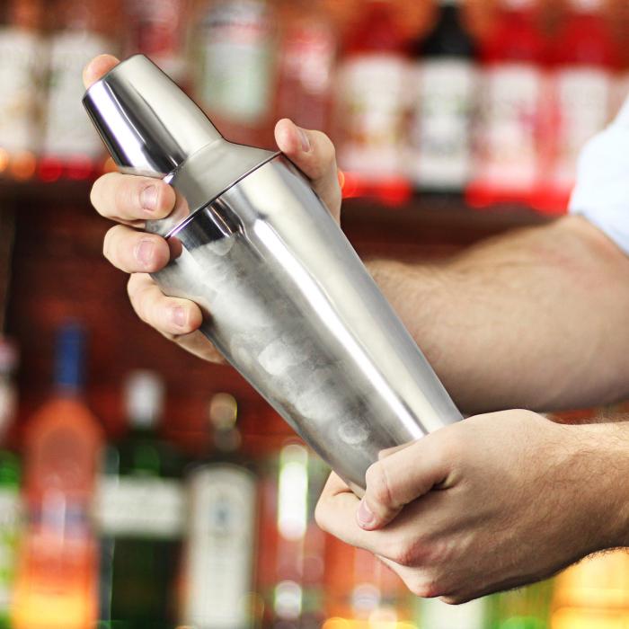 Cocktail Shaker Manhattan inox 750 ml 3