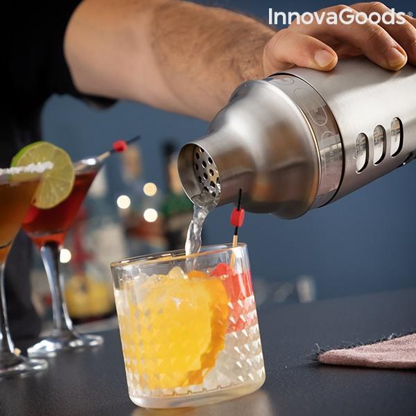 Shaker cu retete de cocktailuri integrate 4