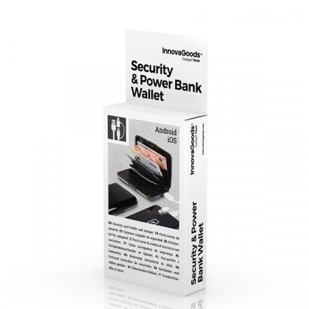 Suport carduri cu protectie RFID/NFC si power bank [4]