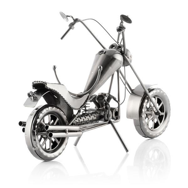 suport sticla vin motocicleta Chopper 3