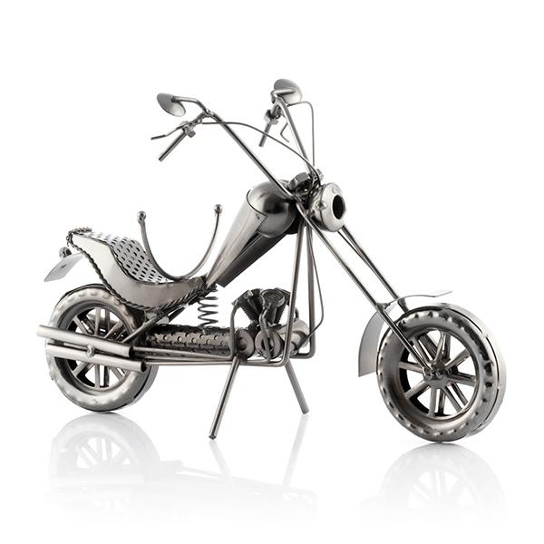 suport sticla vin motocicleta Chopper 1