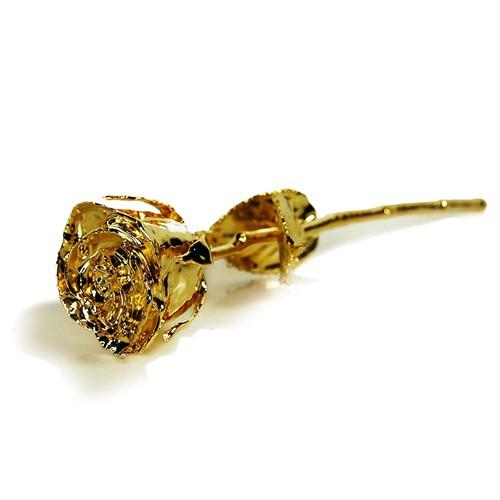 trandafir placat cu aur 2
