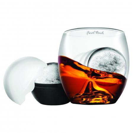 Pahar whisky The Rock + Ice ball3