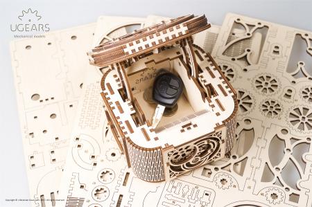 Puzzle mecanic  Cutia de comori2
