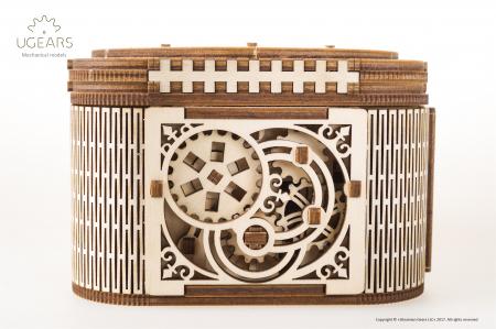 Puzzle mecanic  Cutia de comori1