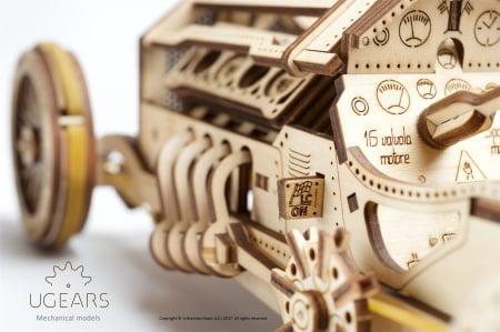 Puzzle mecanic Masina U-9 Grand Prix4