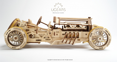 Puzzle mecanic Masina U-9 Grand Prix0
