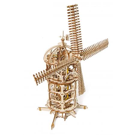 Puzzle mecanic Moara de Vant3