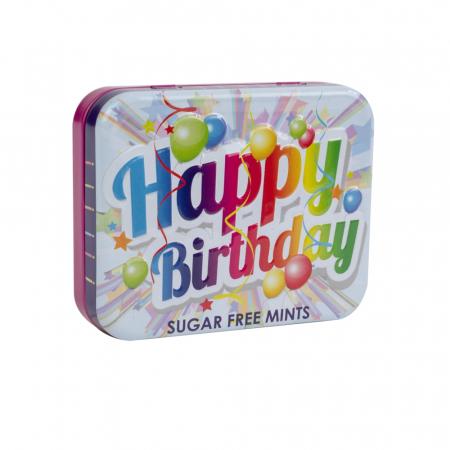 Bomboane mentolate Happy Birthday1