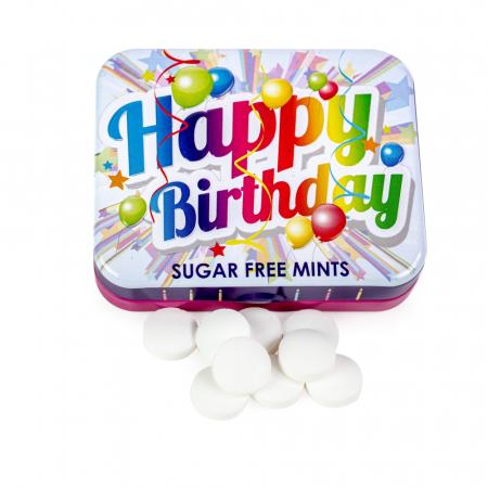 Bomboane mentolate Happy Birthday0