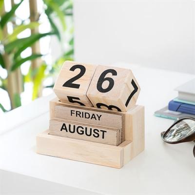 Calendar perpetuu din lemn0