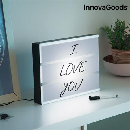 Caseta cu mesaj LED1