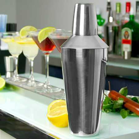 Cocktail Shaker Manhattan inox 750 ml1