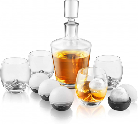 Set decantor Whisky On the Rocks [5]