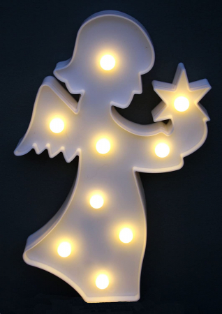 Decoratiune cu LED Ingeras2