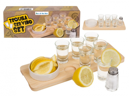 Set de servire Tequila - 9 piese [0]