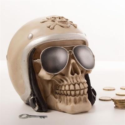 Pusculita craniu motociclist