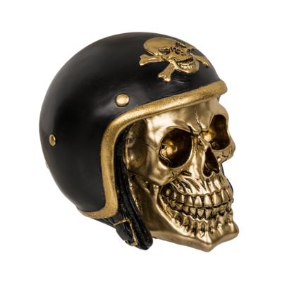 Pusculita craniu motociclist - auriu [1]