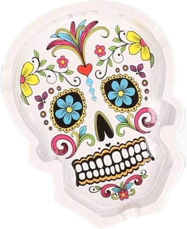 Scrumiera craniu- Dia de Muertos0