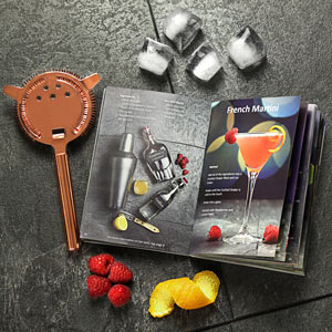 Set cadou Cocktail Manhattan Nights (5 piese) + cartea 100 Retete de cocktail7